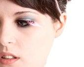 Pink Pastel Feather False Eyelashes