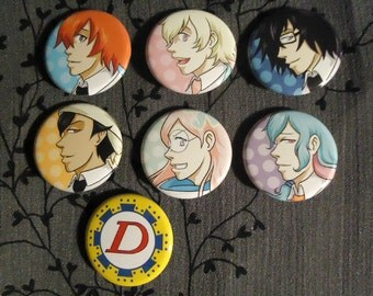 Tsuritama button set