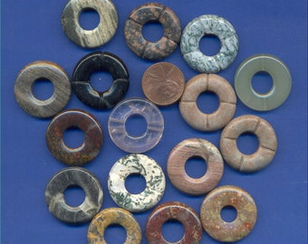 25mm Donut Beads: Mixed-23