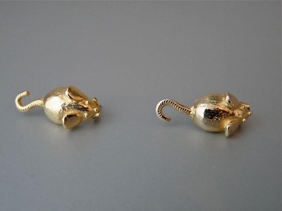 Vintage Mimi di N mouse earrings