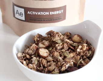 Activation Energy -- coffee and chocolate granola
