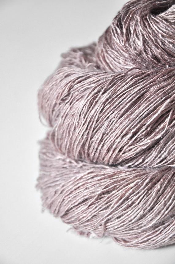 Banshee call OOAK- Tussah Silk Yarn Fingering weight