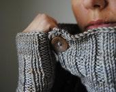 TRIVIUM Knitting Pattern PDF 3 piece hat/cowl/fingerless glove set