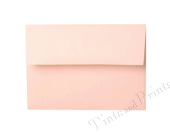 A7 Envelopes Pastel Pink Set of 25 - for 5x7 cards and invitations