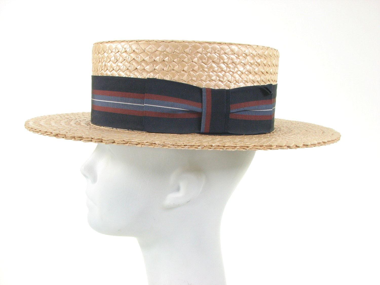 Mens roaring s straw hat