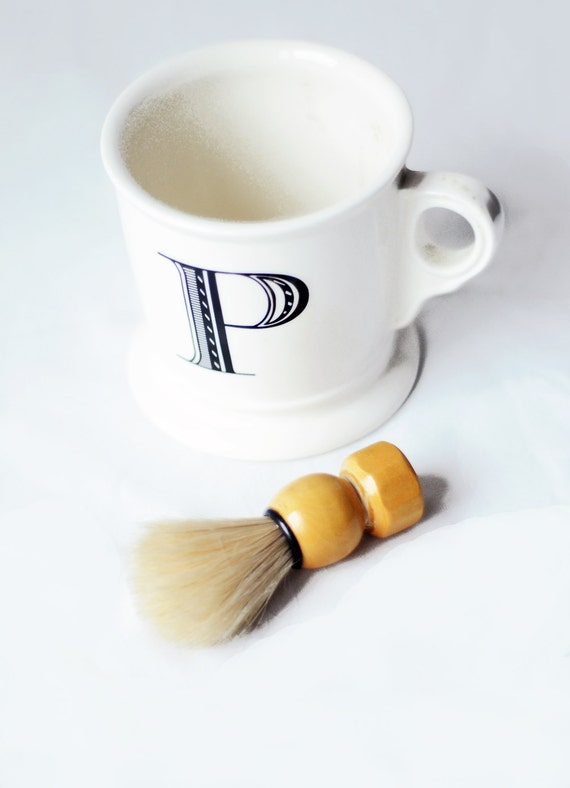 Vintage Wooden Shaving Brush