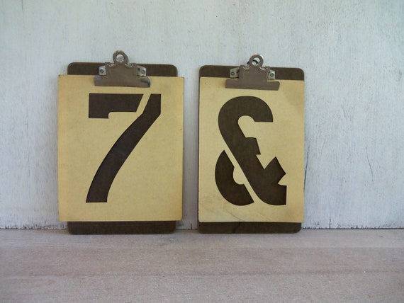 Vintage Clipboards, Set of 2