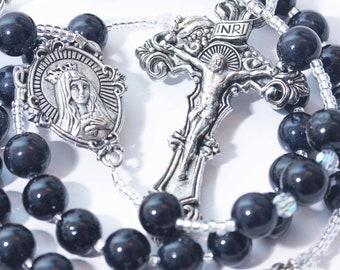 Personalized Rosary for a Groom