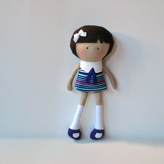 My Teeny Tiny Doll Boo - Made to Order