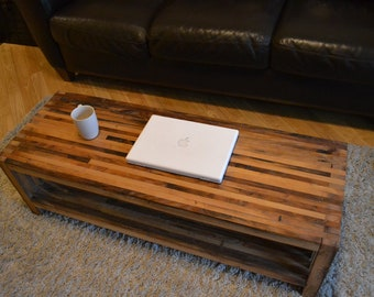 Reclaimed Wood Coffee Table, Coffee Table, Barn Wood Table, Salvaged Wood Table- Free Shipping