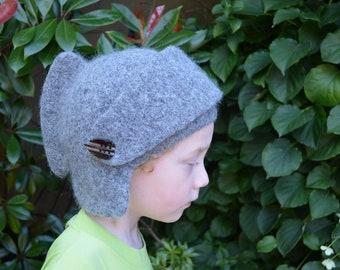 CROCHET PATTERN : Knight helmet for children