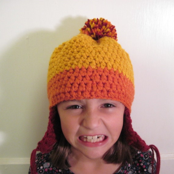 Jayne Hat from Firefly / Serenity Crochet Beanie with Ear Flaps