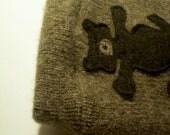 """Wool Shorties """"Chocolate Teddy"""" (S)"""