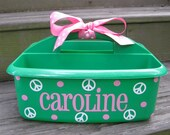 Personalized Caddy-Great for Camp, Dorm Rooms, and Gifts