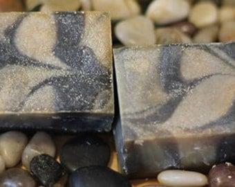 Black Licorice Love Affair cold process bar soap