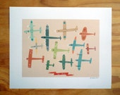 Par Avion print 8X6