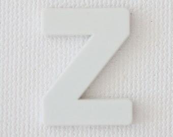 Modern Nursery Artwork, Minimal Baby Room Decor, white decor, beach decor, letter Z, alphabet photography print, baby room art