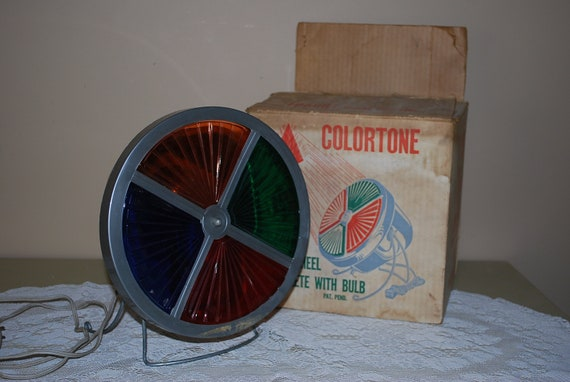 Vintage Harmony House Sears, Roebuck and Company Colortone Christmas Tree Color Wheel, Roto Wheel, RESERVED for JULIA