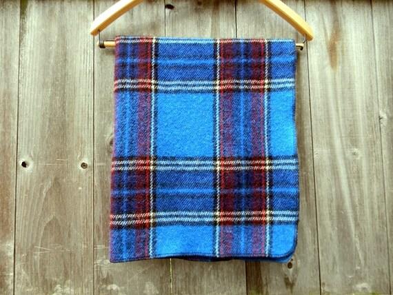 "Organic 100% Wool Puddle Pad Wool Crib Pad Mattress Pad Wool Pad In Blue Red White Plaid 23,5""X33,5"""