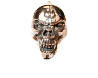 Silver Demon Ring