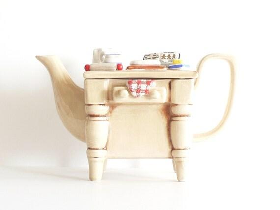 Vintage Tea Council Teapot  Collectible Teapot  Southwest Ceramics