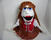 Scottish Lass Puppet