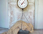 Vintage Hanging Industrial Farm Scale