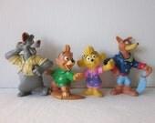 Tail Spin Figures - Kelloggs Disney Mail Away