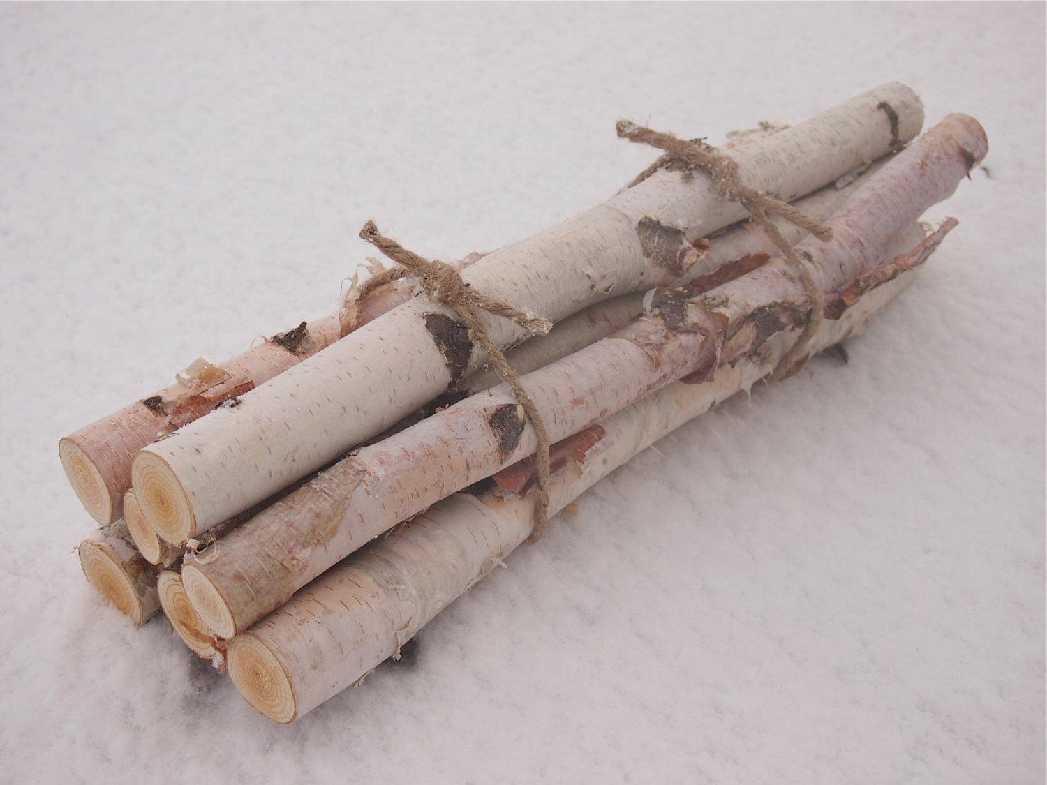 Custom Wedding Accessories 7 White Birch Logs In A Fireplace Bundle Natural Woodland Decor
