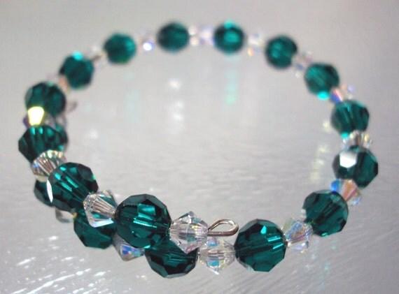 Childs Birthstone Bracelet - May  Birthstone Bracelet -  Kids May bracelet-Kids May birthstone - Kids  May Jewelry -Kids Birthstone Bracelet