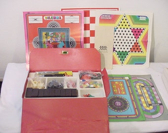 Vintage Pressman Toy Corp Game Chest   12 - 417
