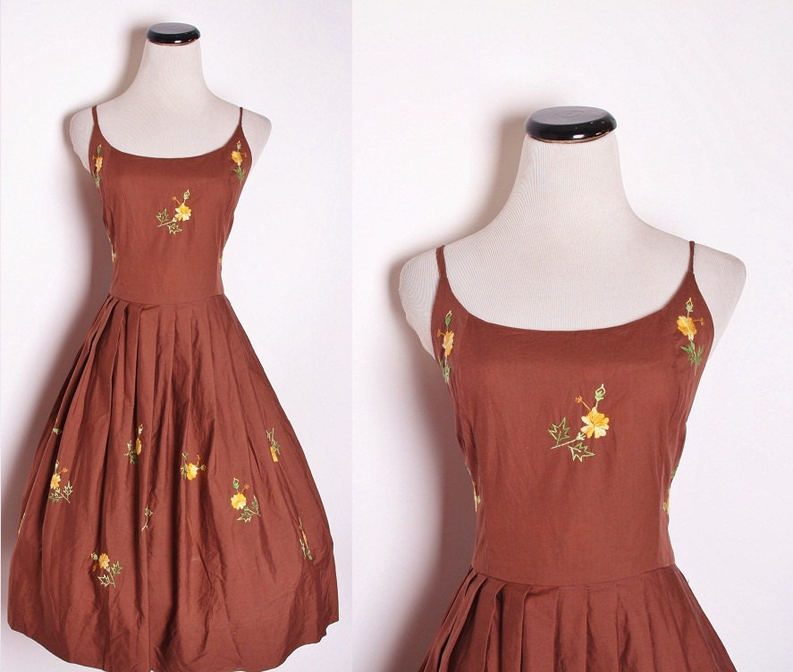 Brown Fall Dresses zoom