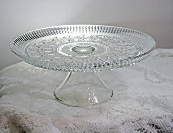 Vintage Cake Stand Crystal Windsor Wedding