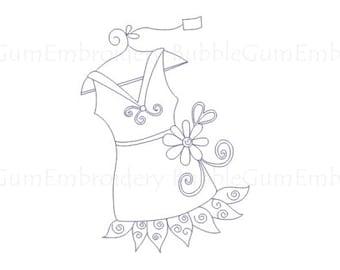 Bluework Fashionista Designs Instant Download
