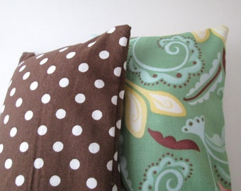 Gift Bundle of Two Rice Filled Heating/Cooling Packs  - Choose Your Fabric