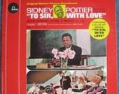 To Sir With Love Original Motion Picture Soundtrack 1967 Lp Original Vinyl Record Album