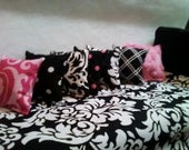 5pillows of your choice - Barbie Monster High Bedding Pillows