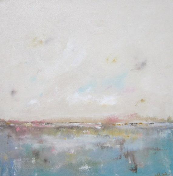 Ocean Seacsape Painting Orignal Art - Quiet Day 24 x 24