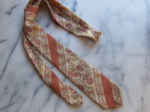 70s Annie Hall Necktie by Symphony Scarves