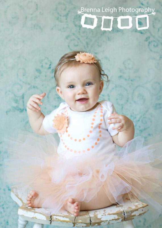 Shabby chic peaches 39 n cream tutu outfit - Shabby chic outfit ideas ...