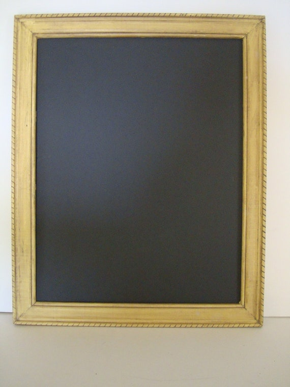 Chalkboard  Old Picture Frame Shabby Chic Old