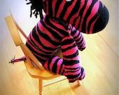 Rockin' Sock Zebra
