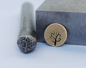 Tree or Branch Metal Stamp- LARGE-Exclusive To Me-New 3/8 in.-Metal Stamping Tool-Perfect for Metal Stamping and Metal Work