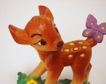 Bambi Walt Disney Plastic PVC Bully Made in West Germany Figure Toy