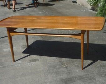 mid-century Danish modern coffee table by France and Son