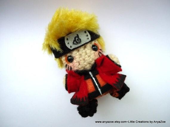 Amigurumi Naruto Pattern : Naruto Amigurumi by AnyaZoe on Etsy