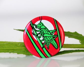 Vintage USSR pin with a Grasshopper