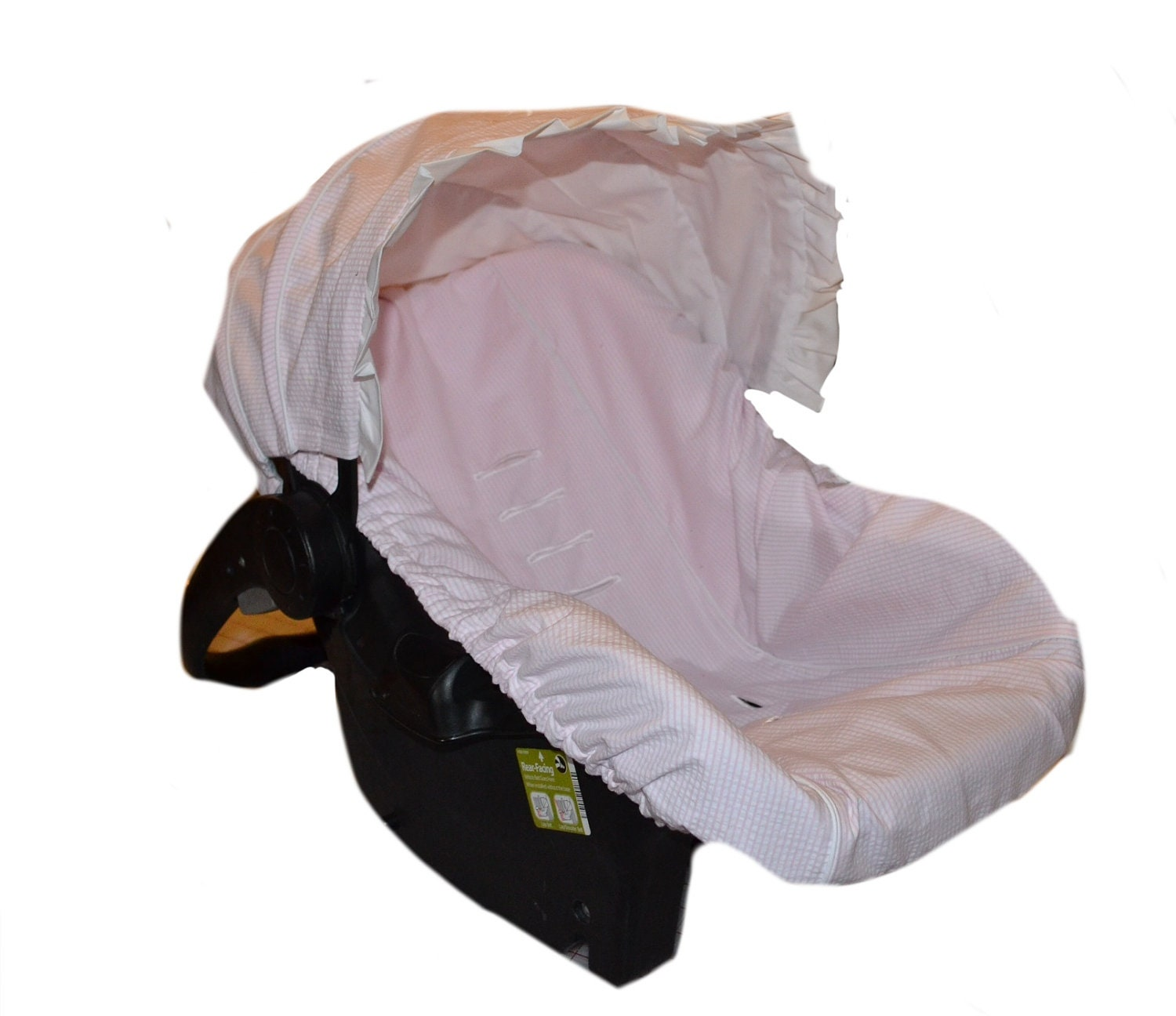 baby car sear cover infant car seat cover slip cover pink. Black Bedroom Furniture Sets. Home Design Ideas
