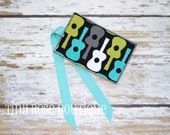 Mini Crayon Roll - Holds 8 Crayons - Can Be Personalized