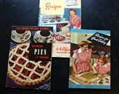 Vintage Cook Books Set of Three Americana